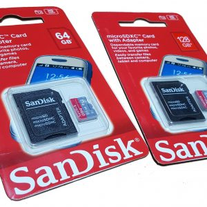 Pre-Formatted SD Cards