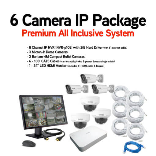6 Camera IP Package