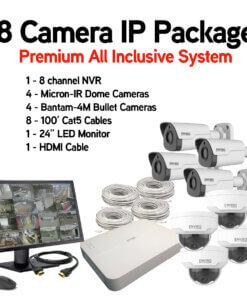 8 Camera IP Package