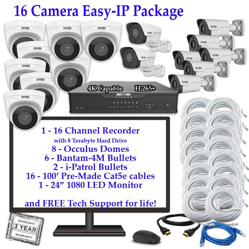 16 Camera package