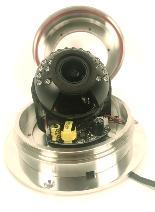 Stainless Steel Dome security camera