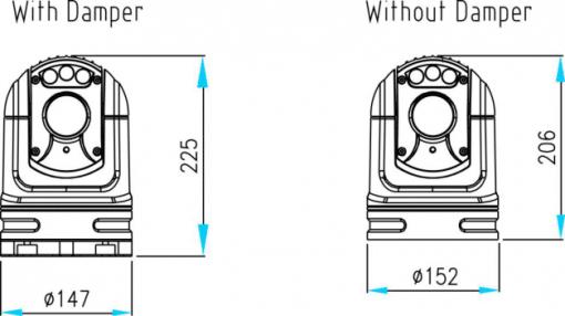 Top Mast-30 height-width