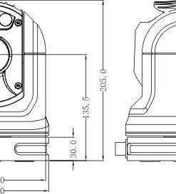 Top Mast-30 indepth measurements