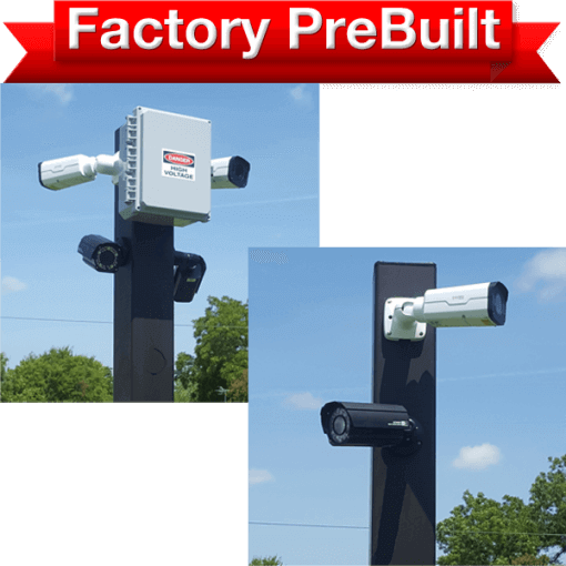 entrance security camera system for driveways and gates