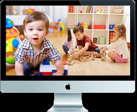 Daycare Parent View Portal Desktop