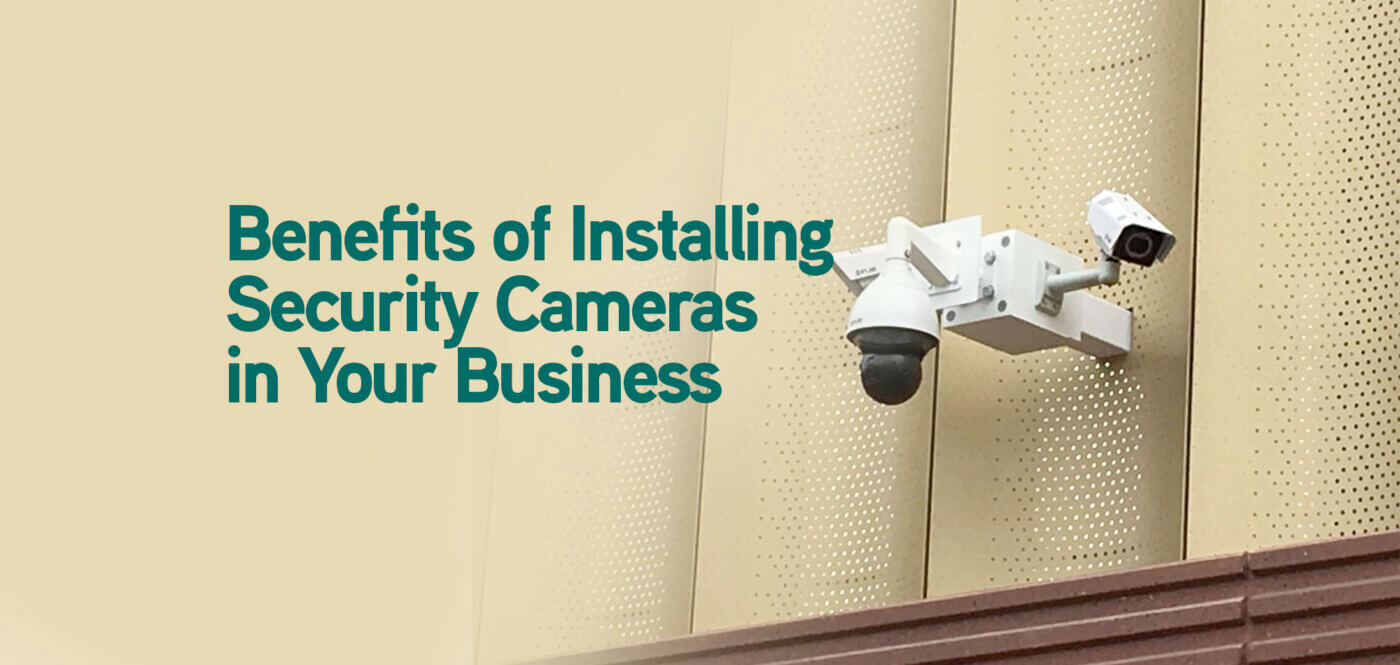 What are teh benefits of a business security system