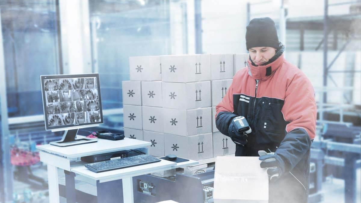 Freezer Cold Storage Cameras