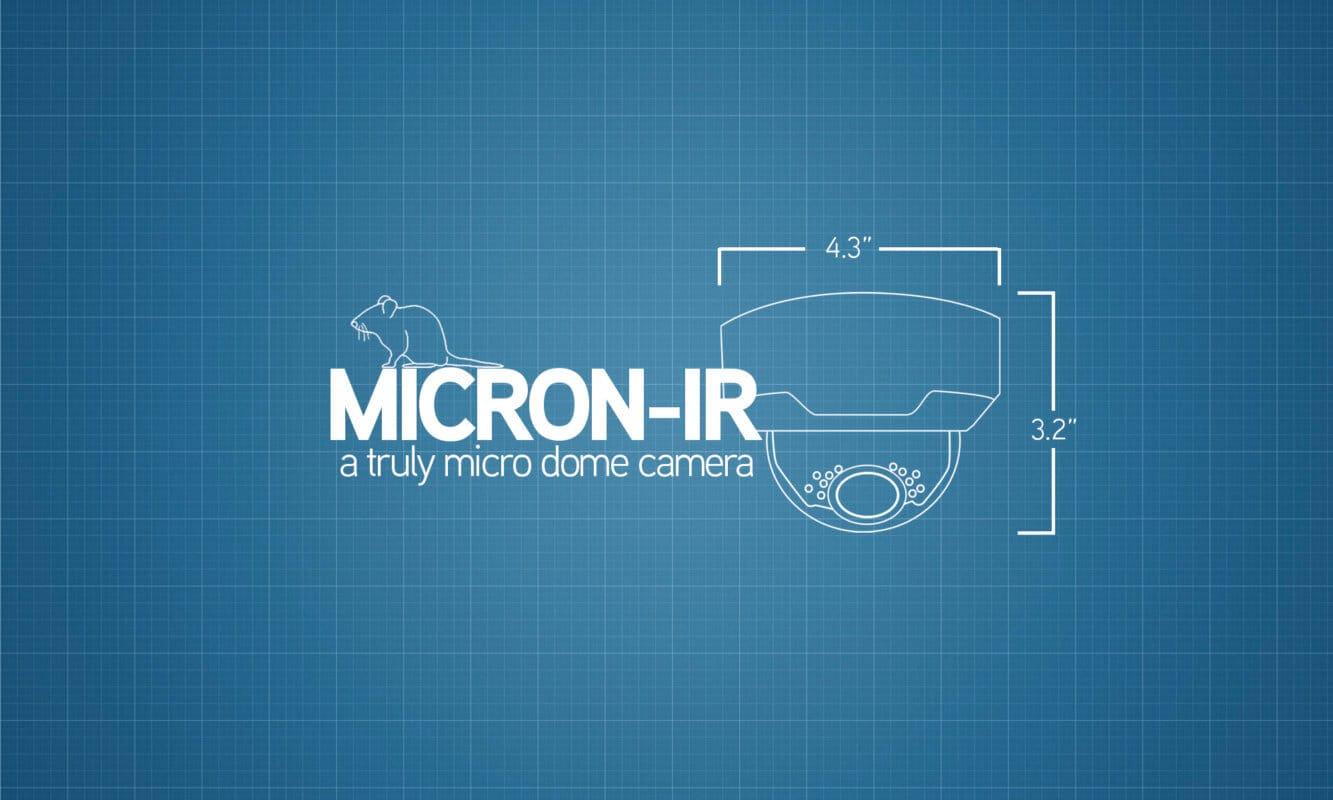 Micro-IR a truly micor dome camera