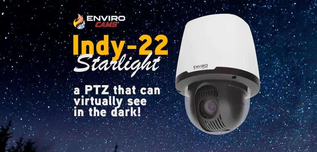 Indy-22 Starlight indoor PTZ Camera