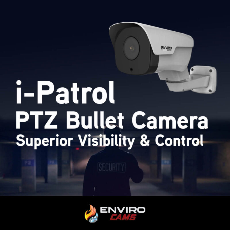 PTZ Controlled Bullet Camera